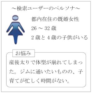 検索ユーザーの人物像